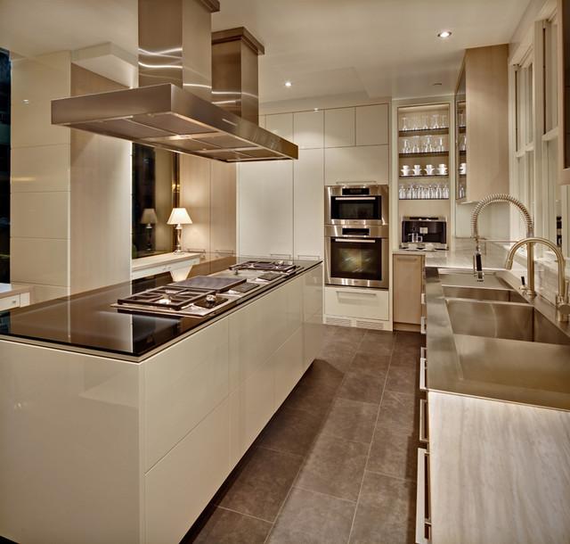 New York Modern modern-kitchen