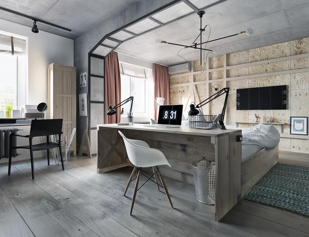 wood-bed-desk-combo