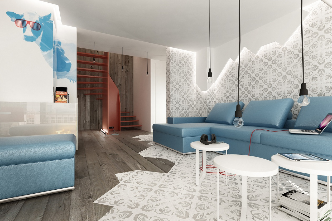 Classically Cool Living Rooms