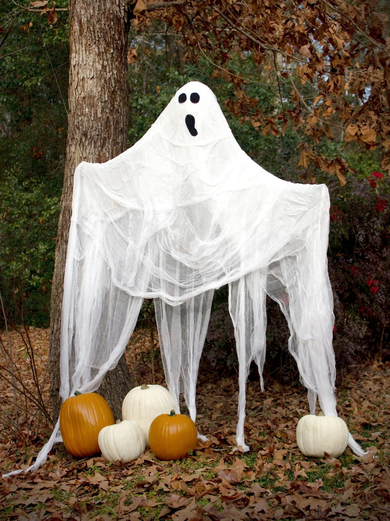Halloween Gauze Ghost Beauty