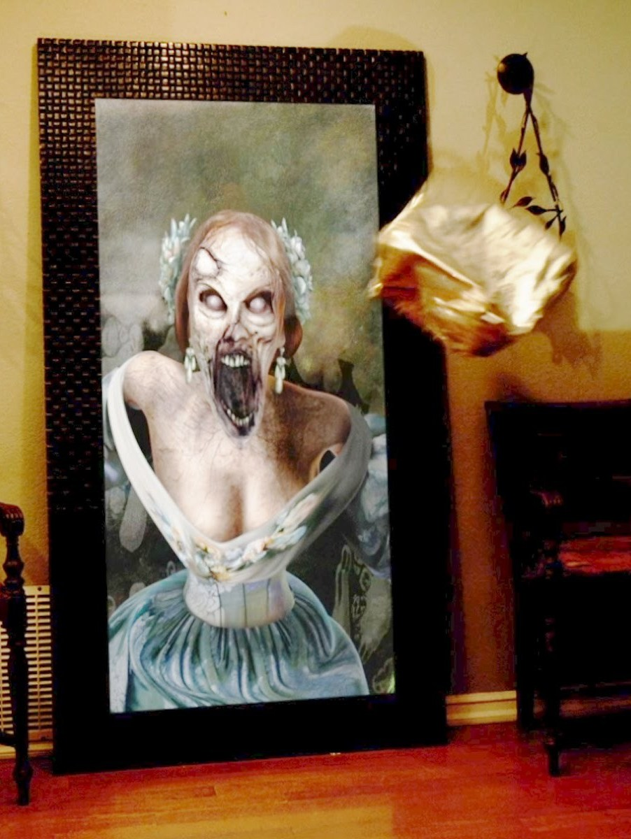 Paranormal Activity Digital Portrait