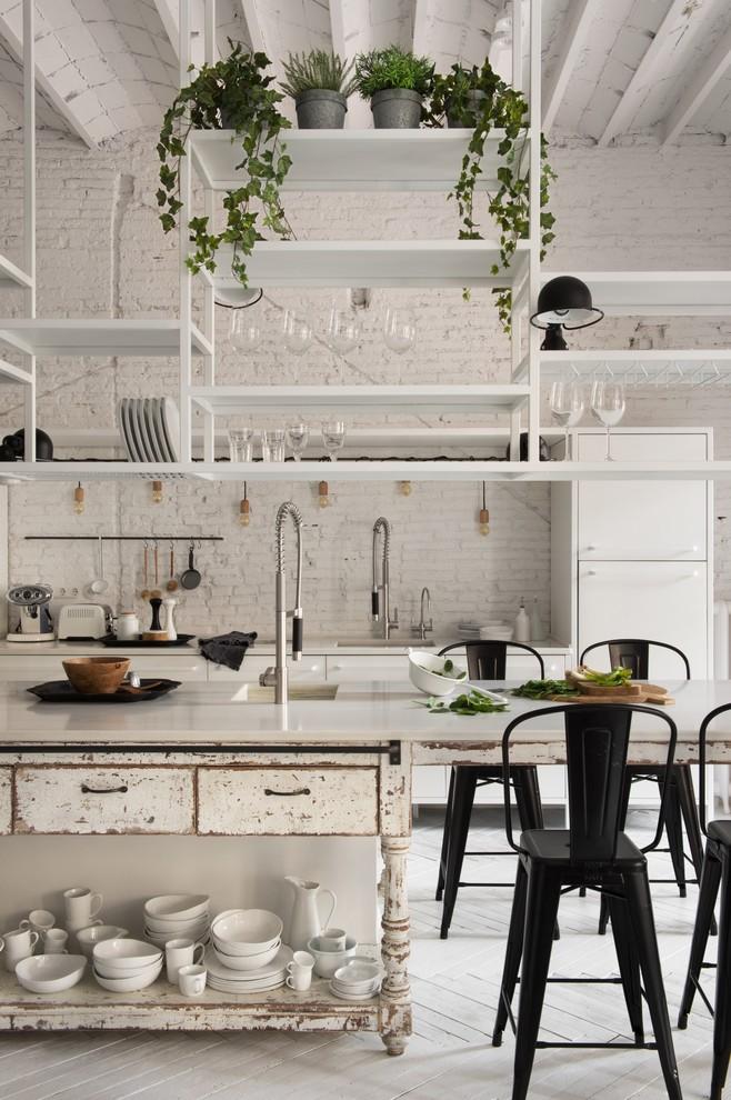 Shabby-Chic Style Kitchen Design