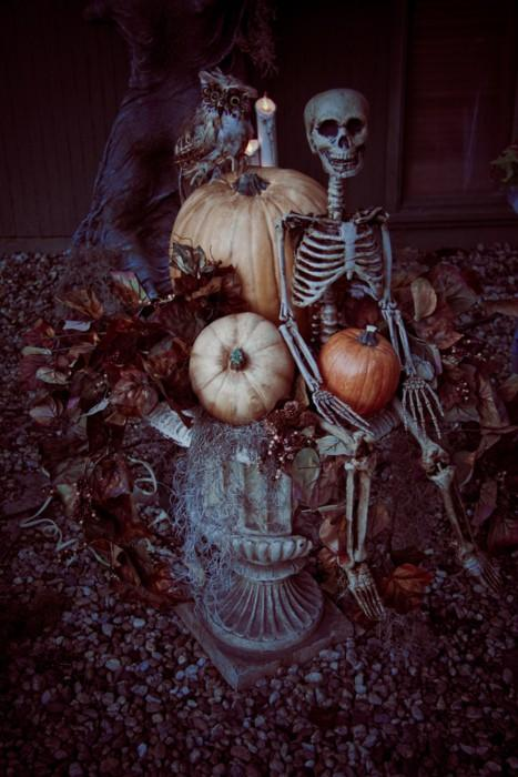 Spooky Outdoor Halloween Decoration