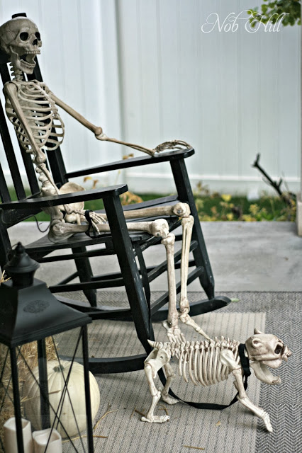 Funny Halloween Skull Hangout Decorations