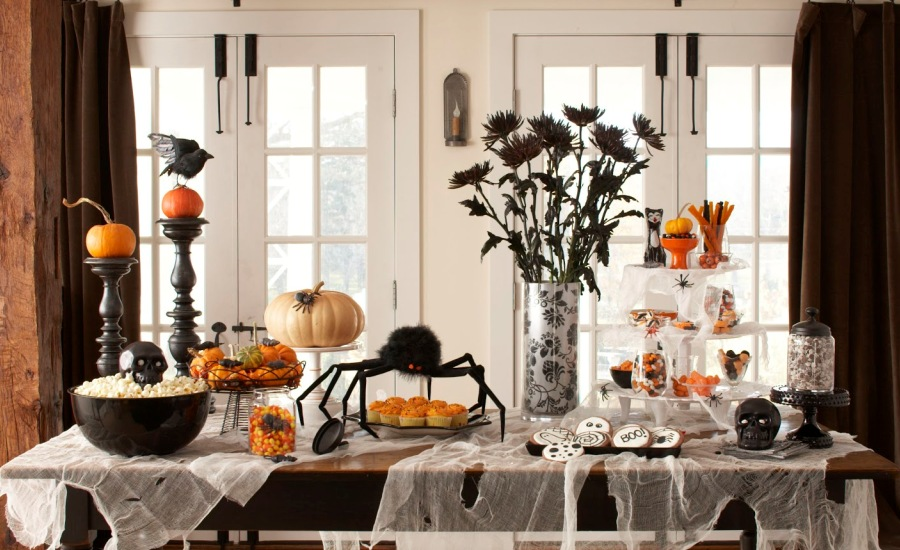Indoor Halloween Decoration Ideas (14)