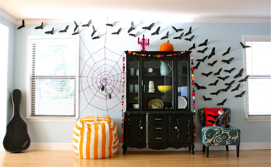 Indoor Halloween Decoration Ideas (19)