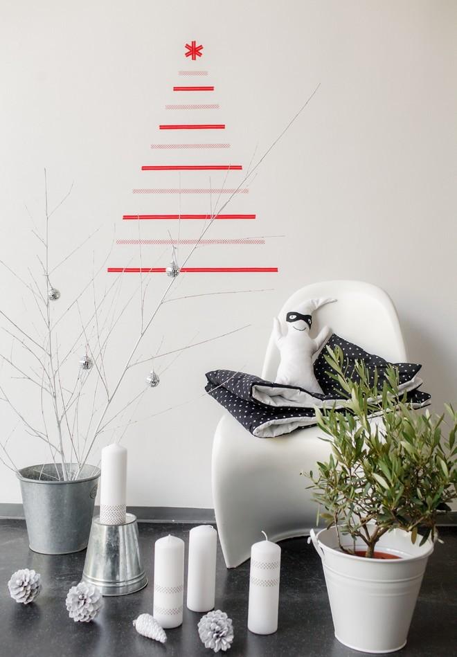 black-and-white-christmas-decoration-ideas