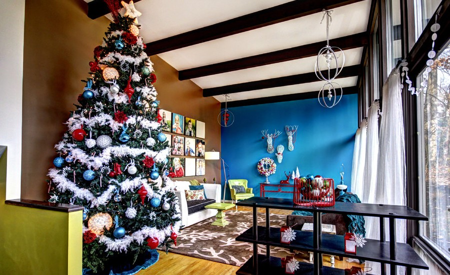 christmas-midcentury-living-room-design