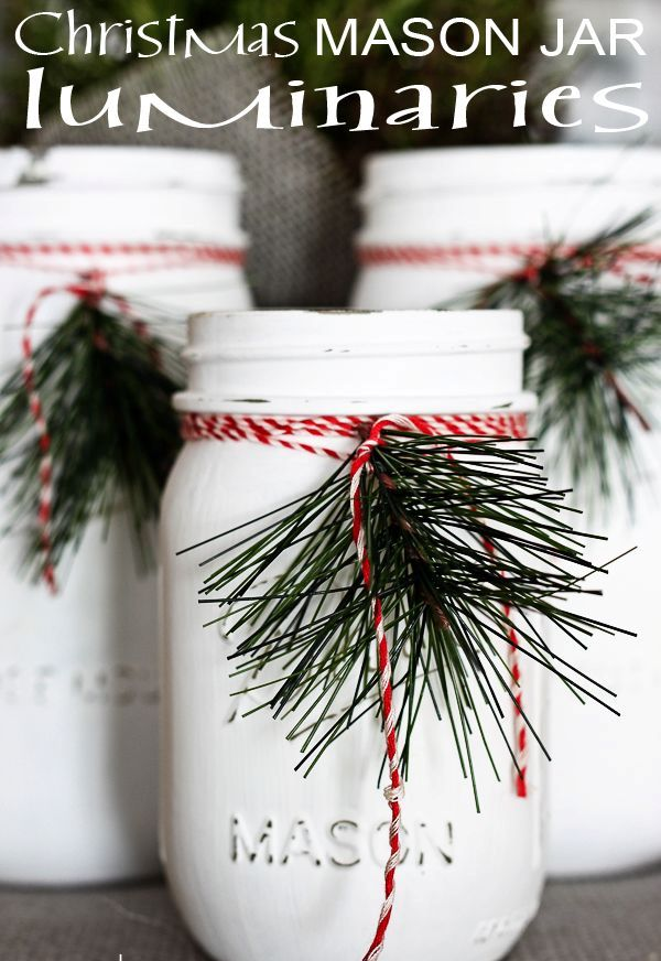 diy-painted-mason-jar-decorated-with-twine-and-greenery