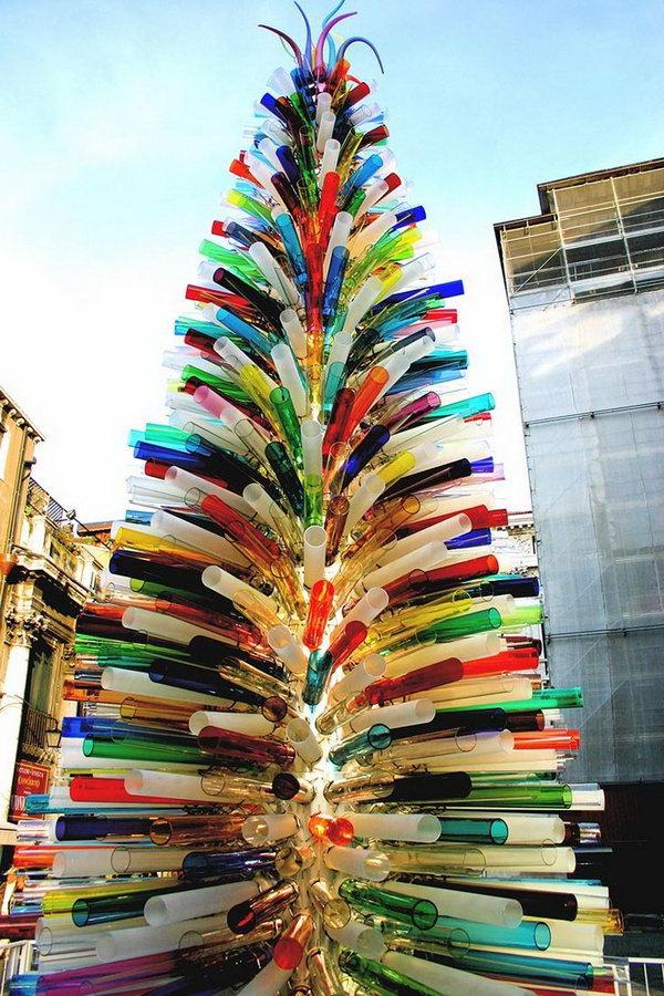 murano-glass-christmas-tree