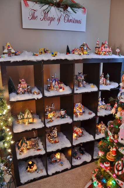christmas-village-in-living-room