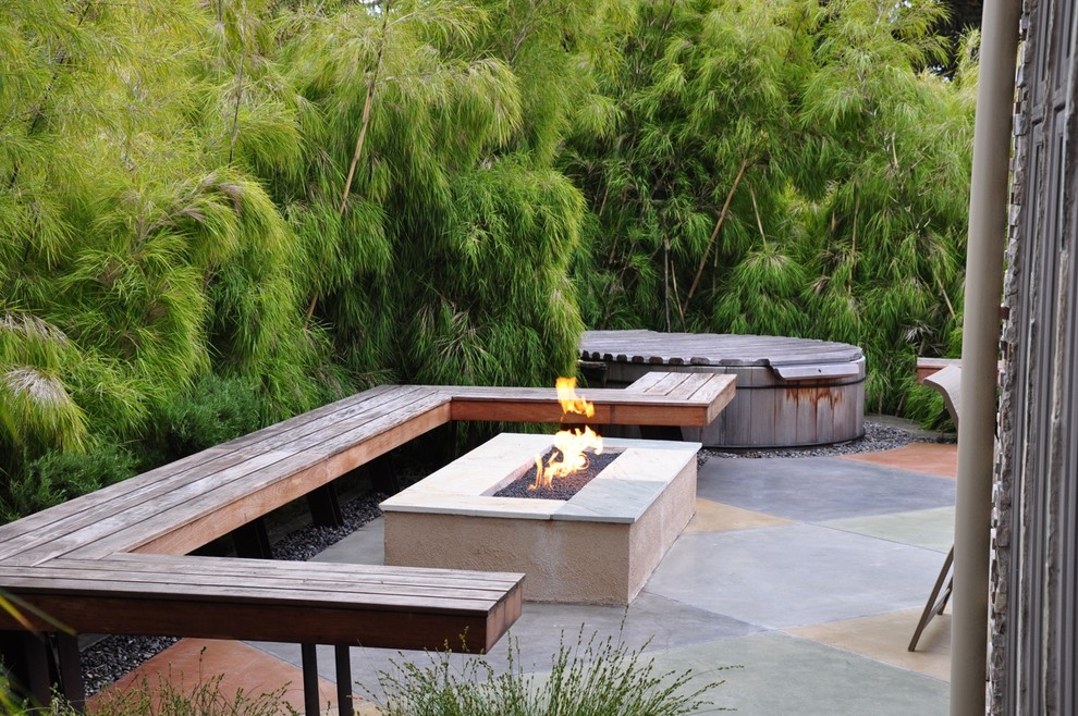 Asian Patio Design