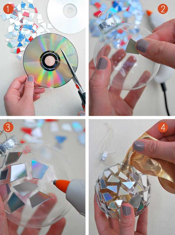 diy-mosaic-ornaments-from-cds