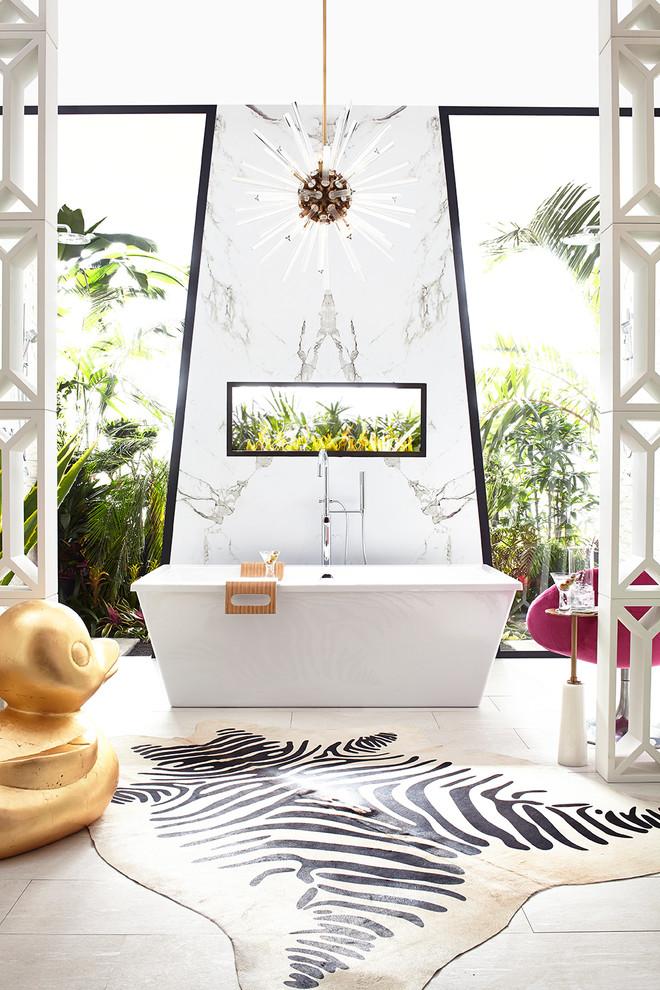Midcentury Master Bathroom