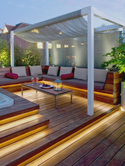 Terrace Balcony Backyard Deck Design
