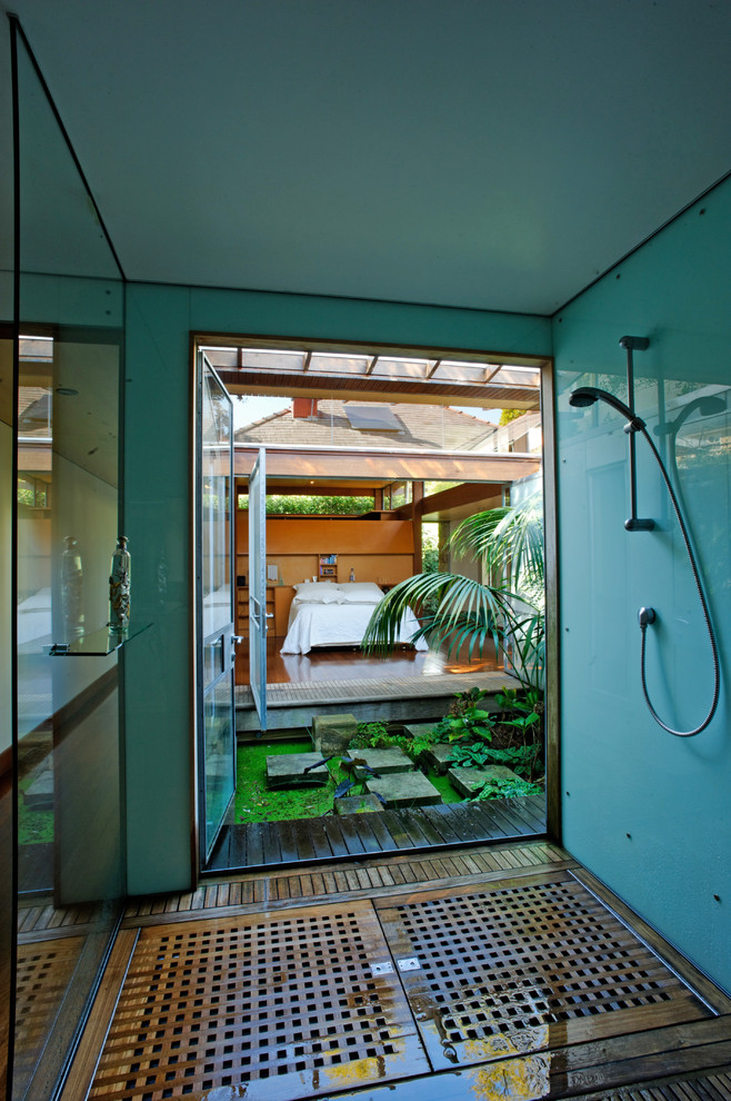 Tropical Master Bathroom