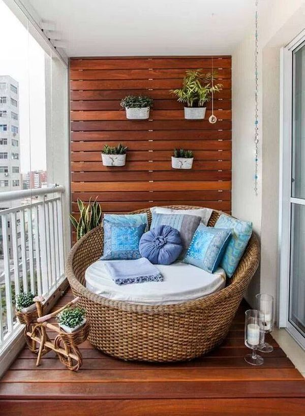 Apartment Balcony Design