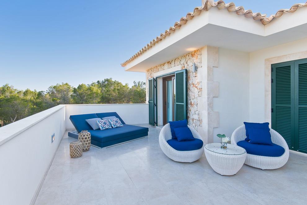 Mediterranean Balcony Design