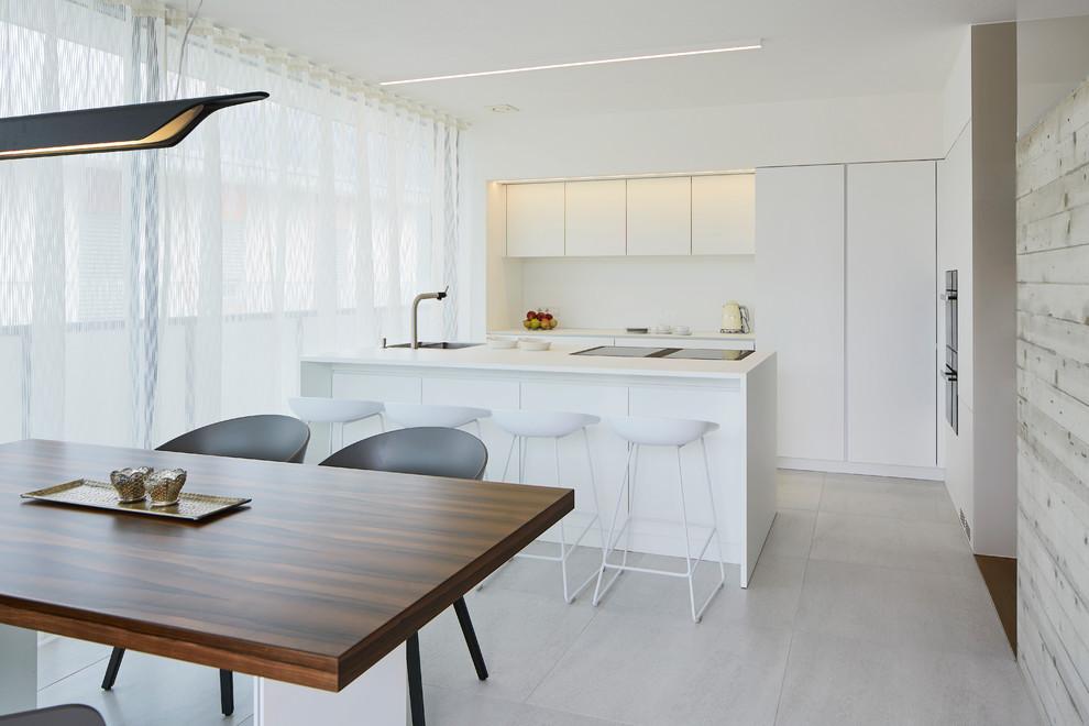 Modern Galley Kitchen