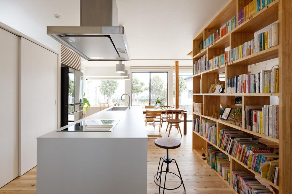 Modern single-wall kitchen