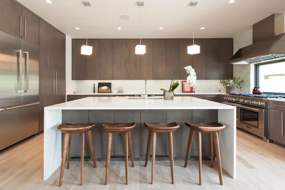 U Shaped Modern Kitchen