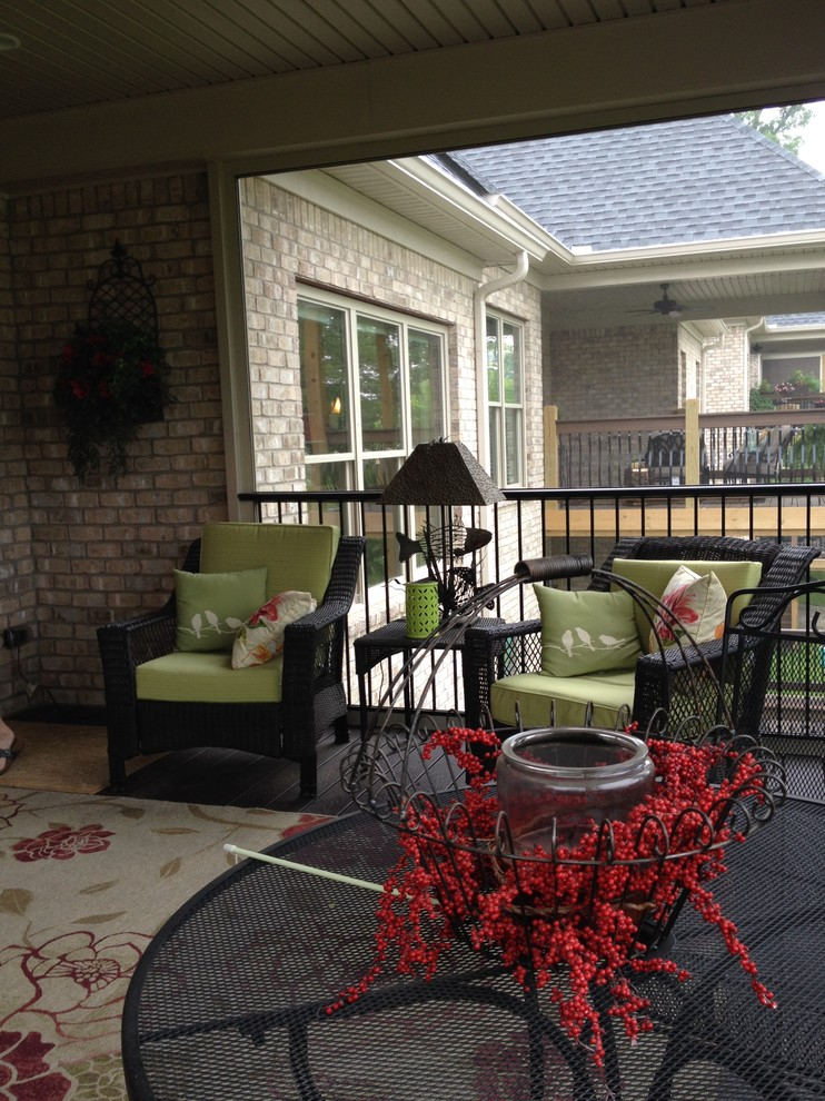 Scandinavian Backyard Porch Design
