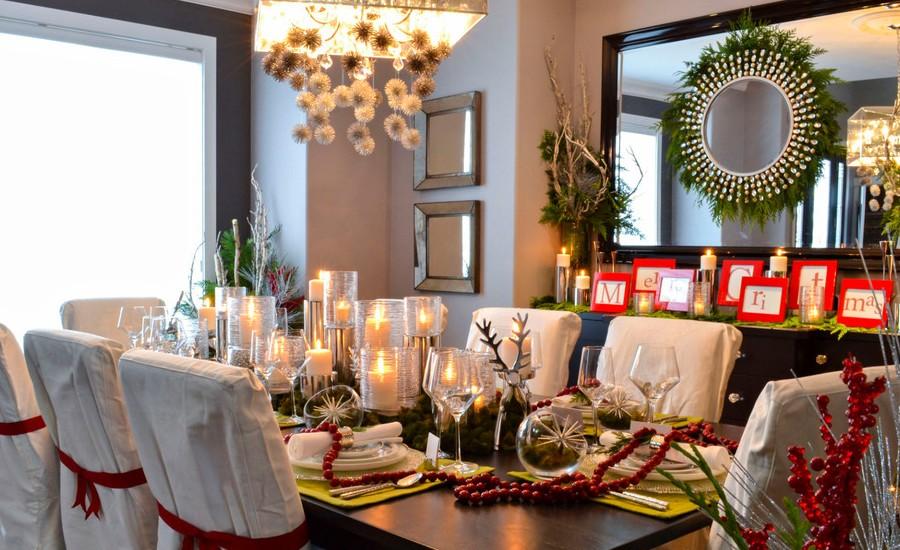 Christmas Dining Room Decoration Ideas