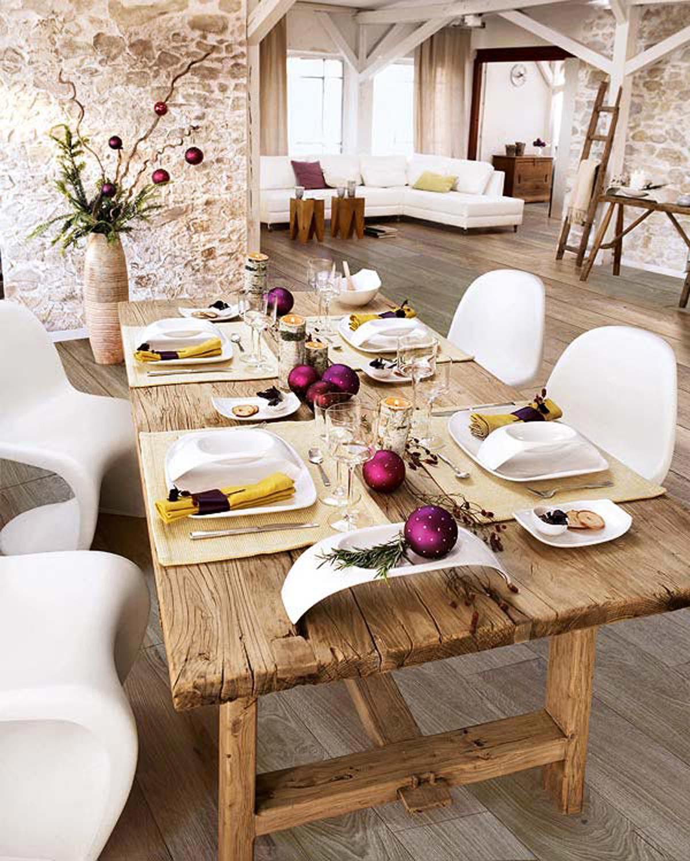 Christmas Dinner Table Decoration Ideas