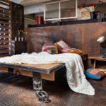 21 Bold Industrial Bedroom Design Ideas