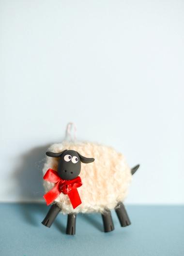 Fluffy Friendly Sheep