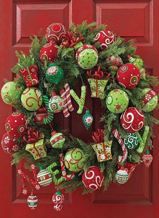 Christmas Door Wreath Ideas
