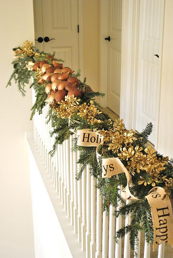 Christmas Railing Decoration Ideas