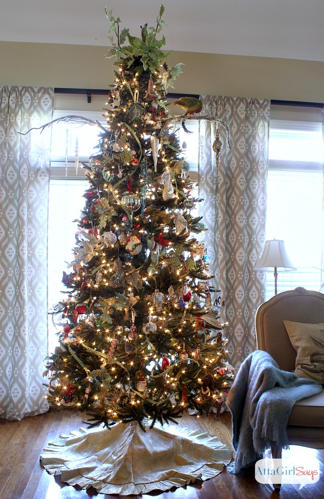 Christmas Tree In Living Room Idea