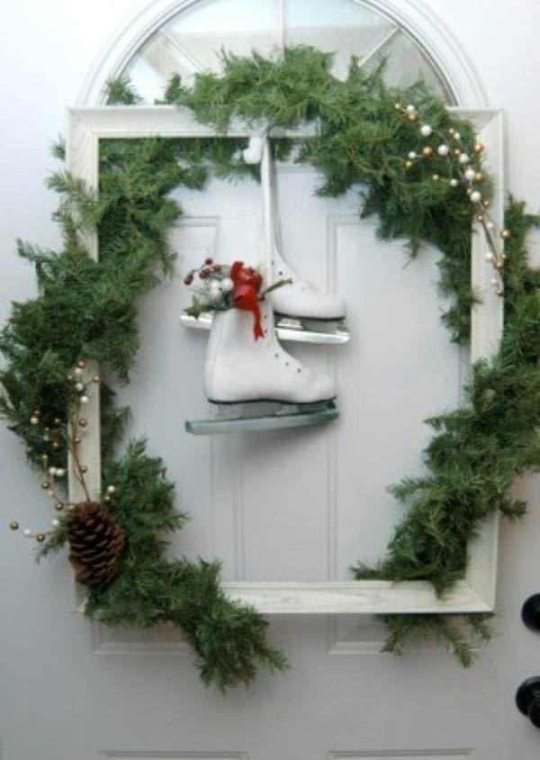 Christmas Wreath Frame