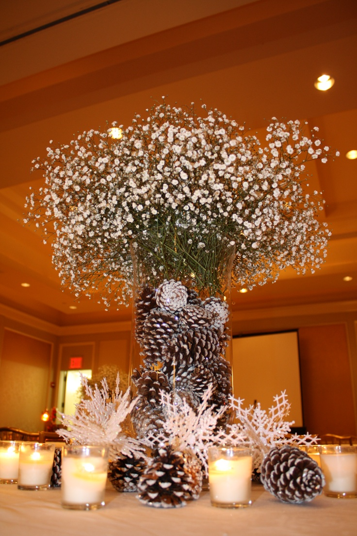 Corporate Christmas Party Centerpieces