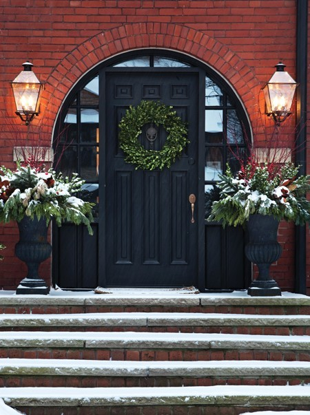 Front Door Christmas Wreath