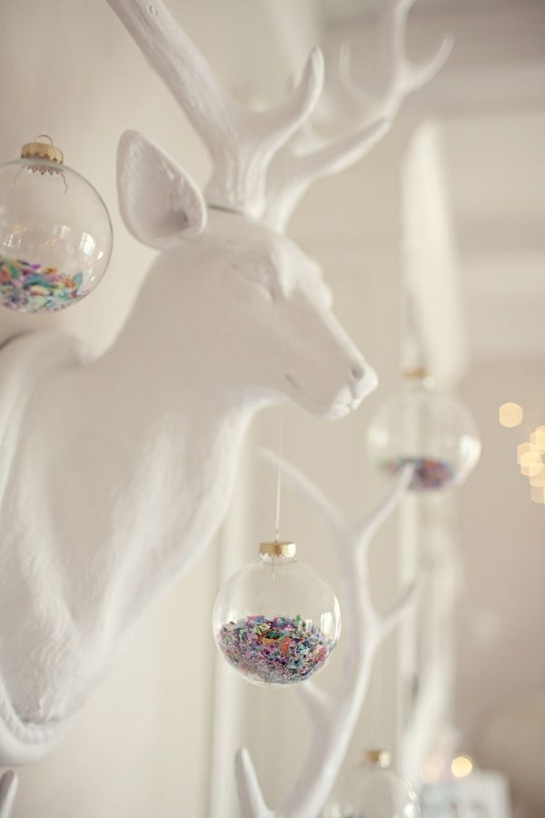 Modern Christmas Ornament Decorations