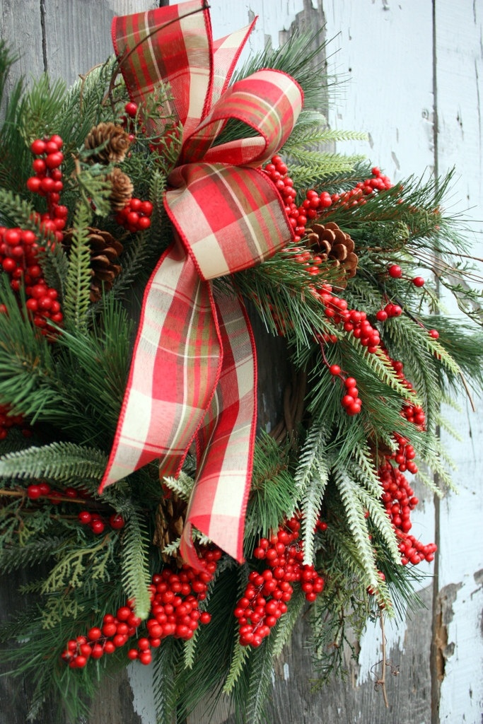 Red Christmas Berries for Wreath