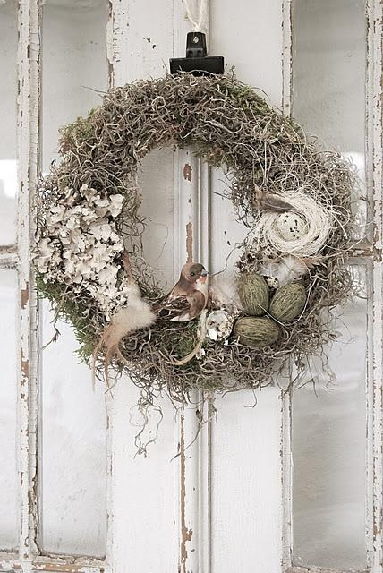 Rustic Christmas Wreath Idea Design