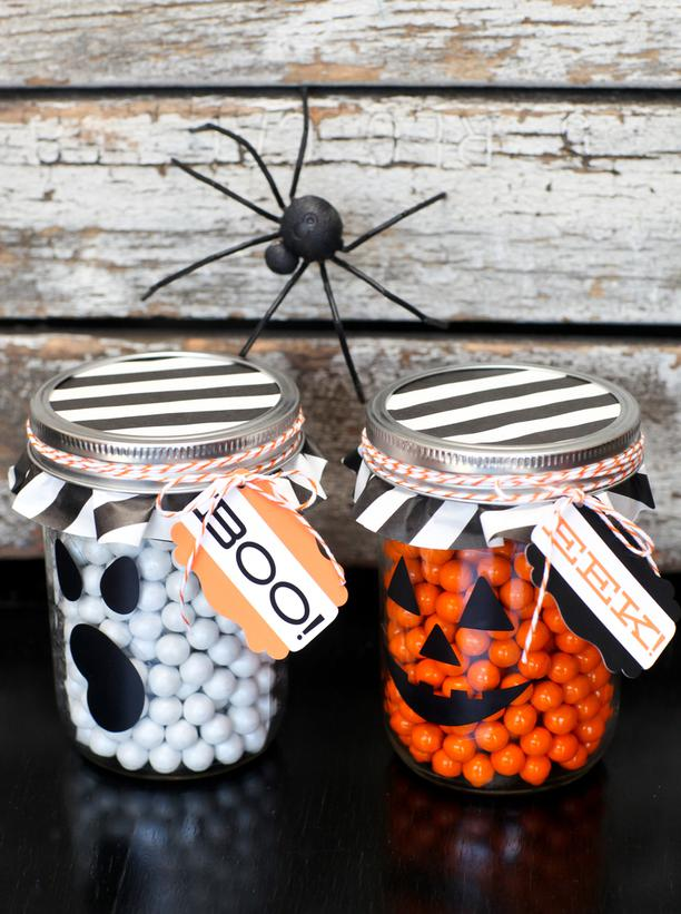 Amazing Halloween mason jar ideas