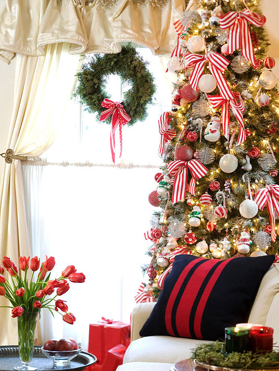 Christmas Living Room Decor Ideas (10)