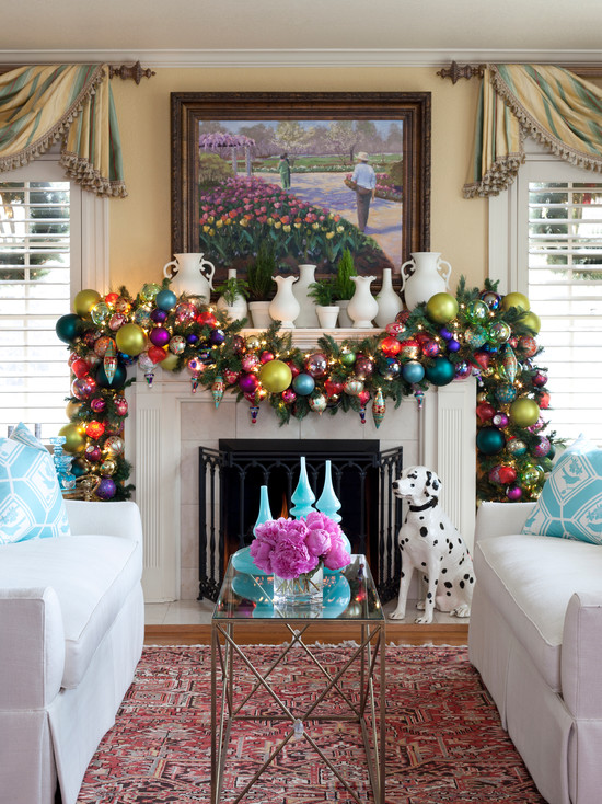 Christmas Living Room Decor Ideas (17)