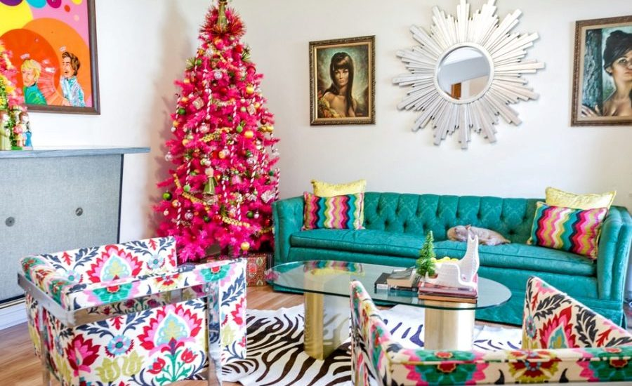 Christmas Living Room Decor Ideas (29)
