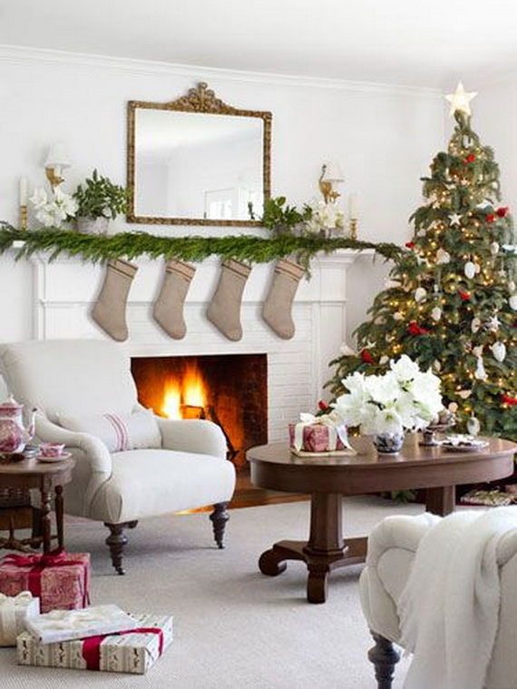 Christmas Living Room Decor Ideas (32)