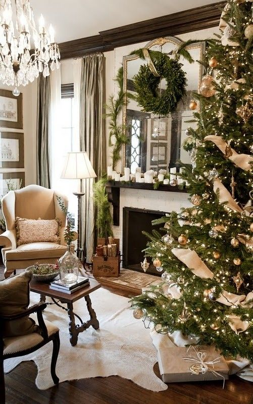 Christmas Living Room Decor Ideas (46)