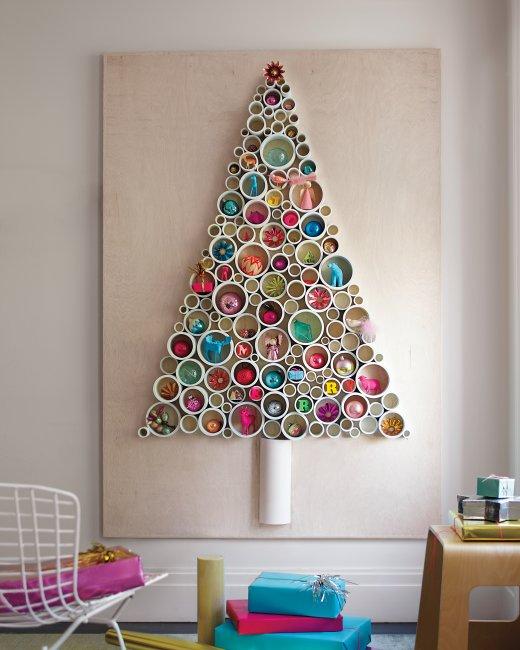 DIY Christmas Wall Art Ideas Thewowdecor (23)