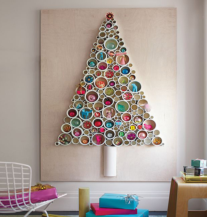 DIY PVC Pirpes Christmas Tree Thewowdecor