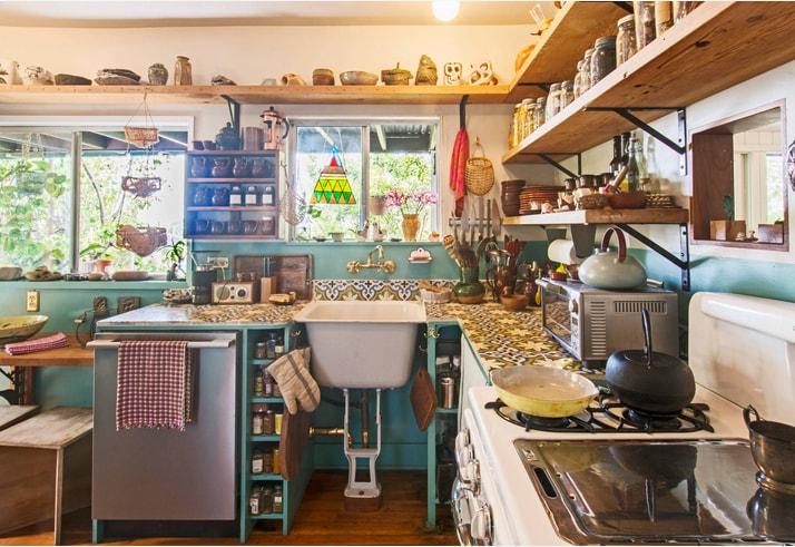 Eclectic Kitchen Design Ideas (5)
