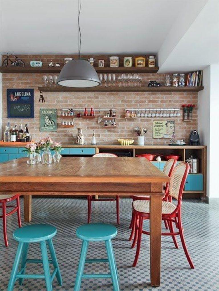 Eclectic Kitchen Design Ideas (8)