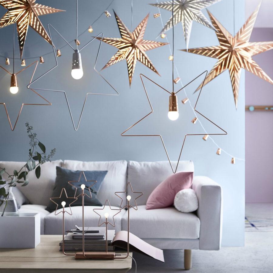 Modern Christmas hanging decorations Dwellingdecor